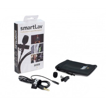 RODE SmartLav Lavalier Microphone for Apple iOS Devices