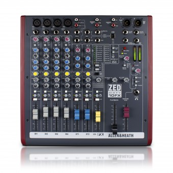 Allen & Heath ZED60 10FX Mixing Console