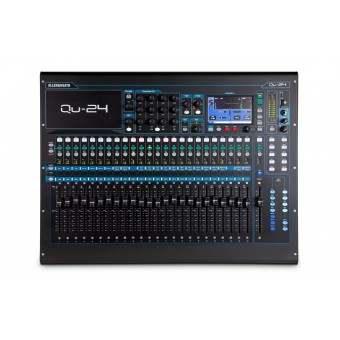 Allen & Heath QU24 - 24 In / 30 Out Digital Mixer