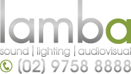 Lamba Group - Sound, DJ, Lighting, Audio / Visual